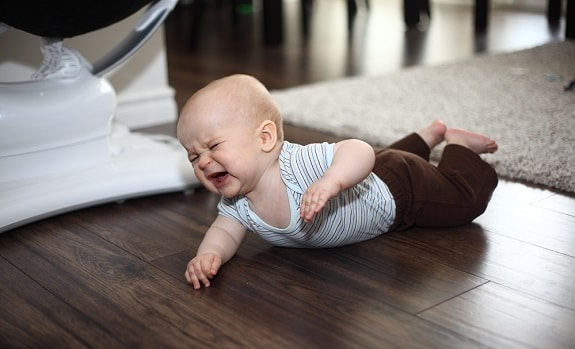 Baby Crying During Tummy Time