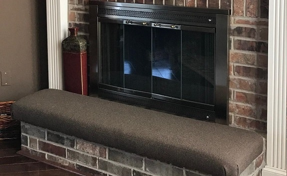 Baby Proofing Fireplace Hearth Using Hearth Pad