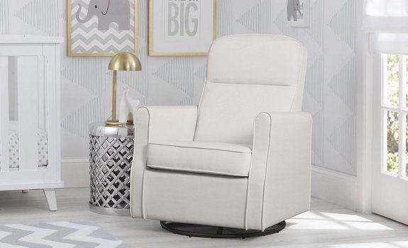 Delta Furniture Blair Slim Glider Swivel Rocker Chair
